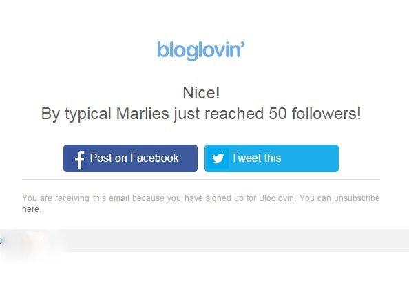 bloglovin 50